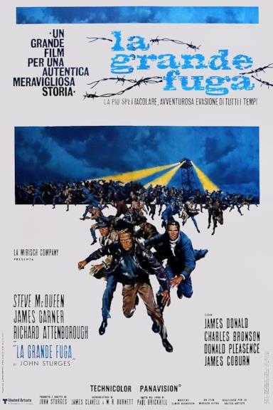 Poster La grande fuga
