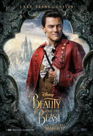 La Bella e la Bestia: Luke Evans nel ruolo di Gaston