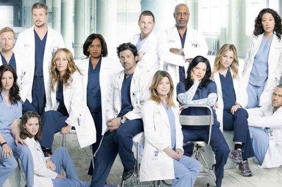 Il cast di Grey's Anatomy