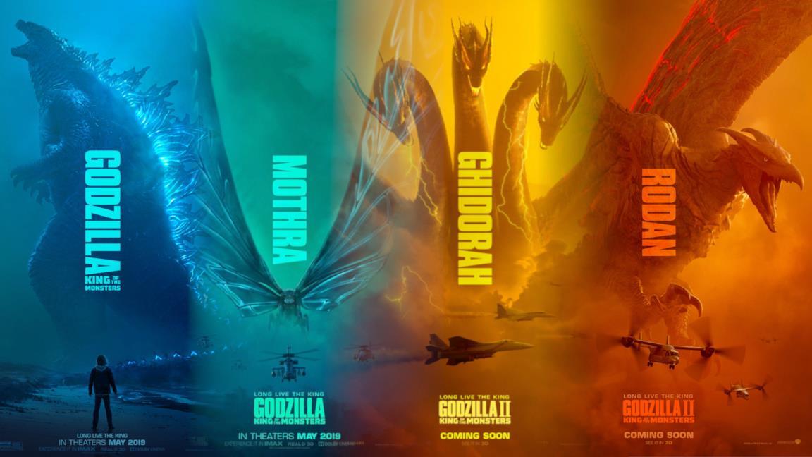 Godzilla II: King of the Monsters, chi sono King Ghidora, Mothra e Rodan?
