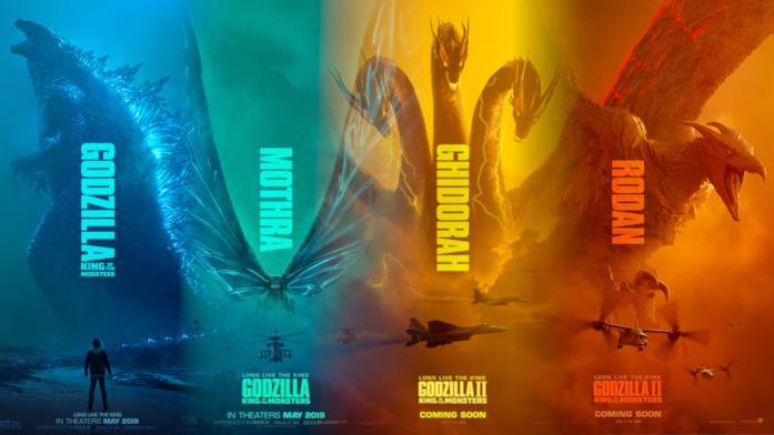 Tutti i mostri di Godzilla 2