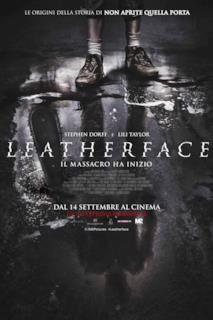 Poster Leatherface - Il massacro ha inizio