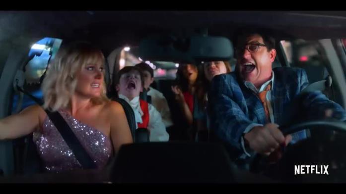 La famiglia di Margot è la protagonista di una folle fuga in auto