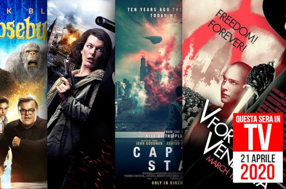 Film in TV: 21 aprile 2020