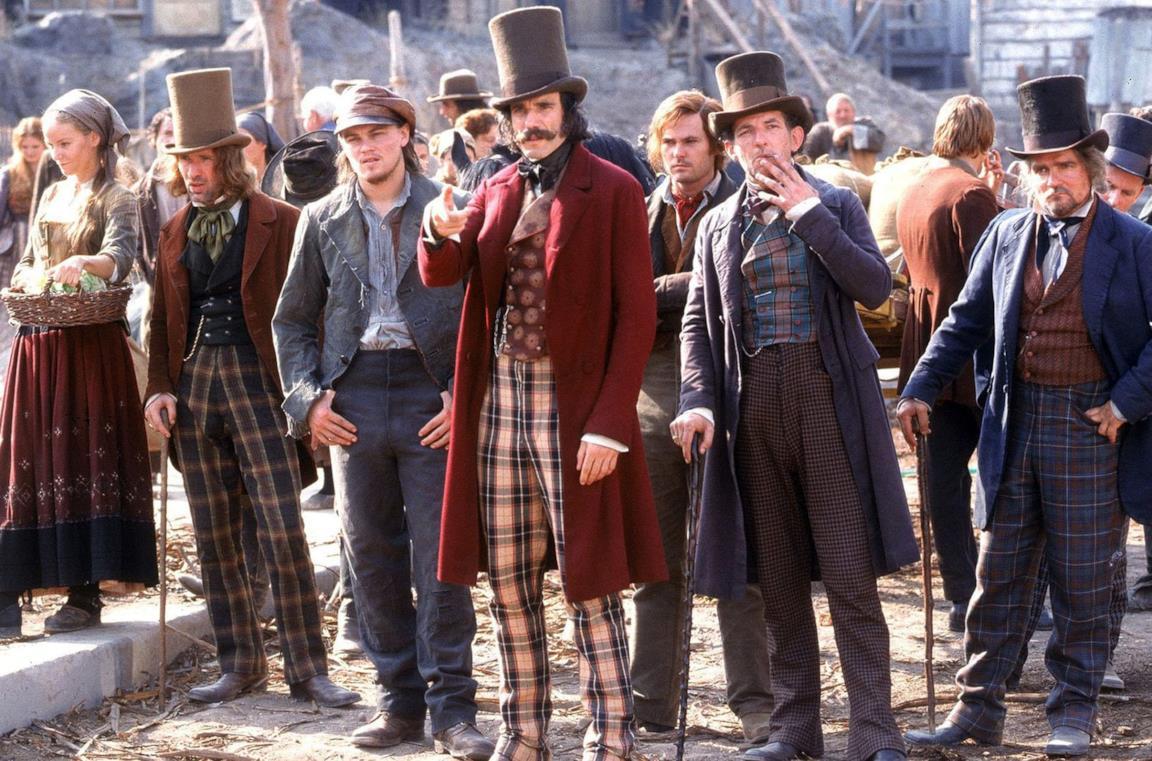 Una scena tratta da Gangs of New York