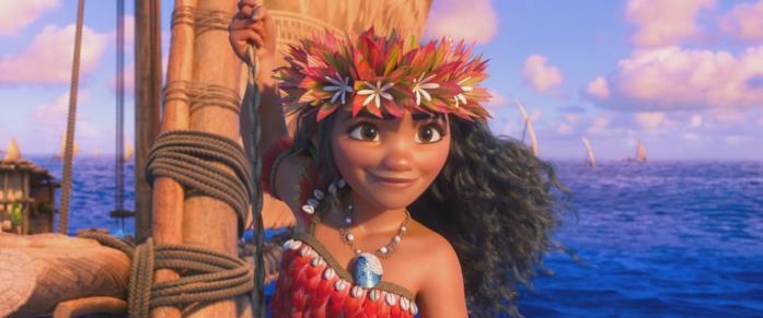 Una scena del film Oceania