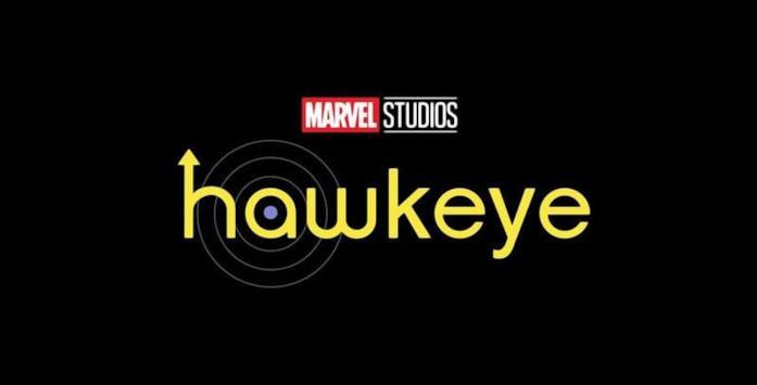 Il logo di Hawkeye, serie TV in arrivo su Disney+