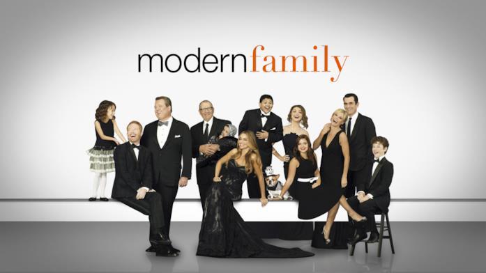 Modern Family, locandina della premiata serie comedy