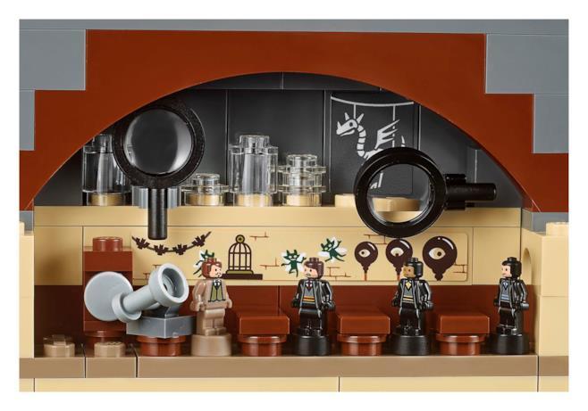 Aula di Difesa Contro le Arti Oscure LEGO