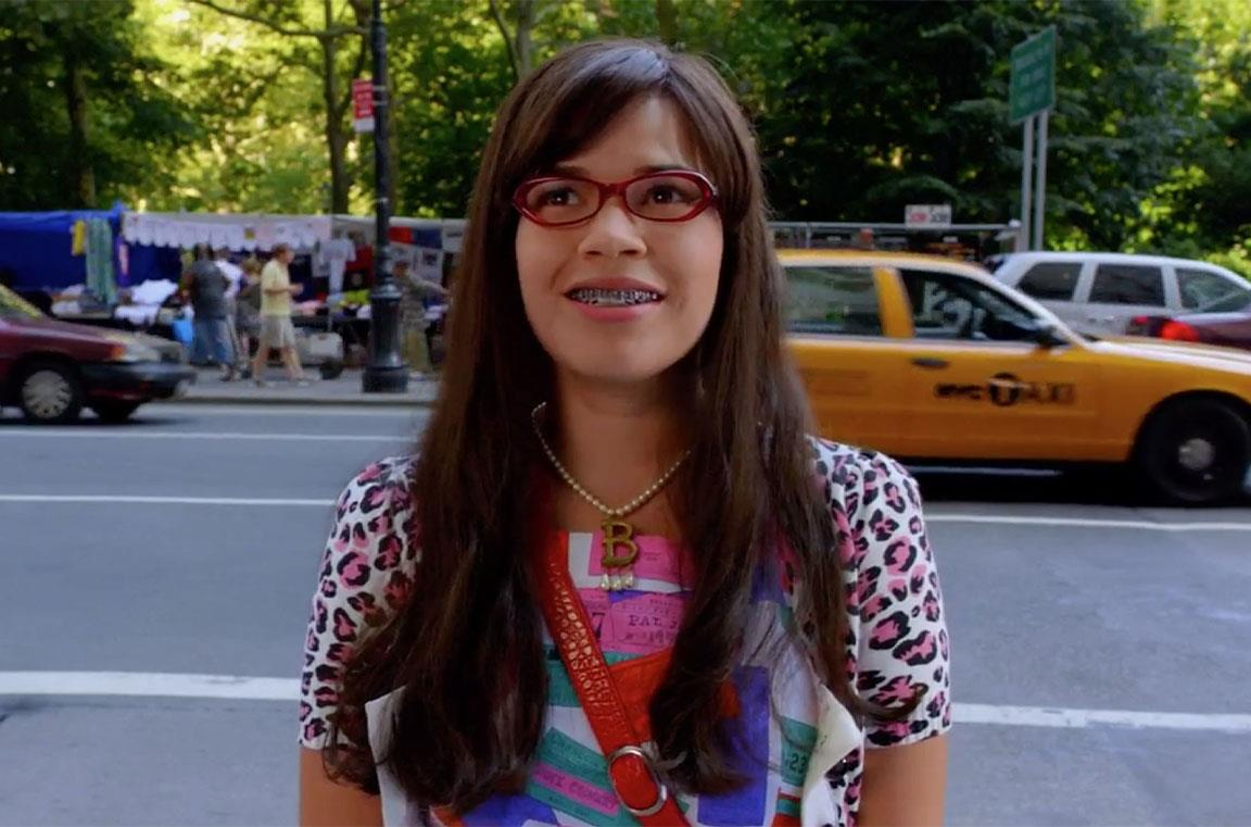 Una scena di Ugly Betty