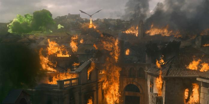 Drogon distrugge Approdo del Re