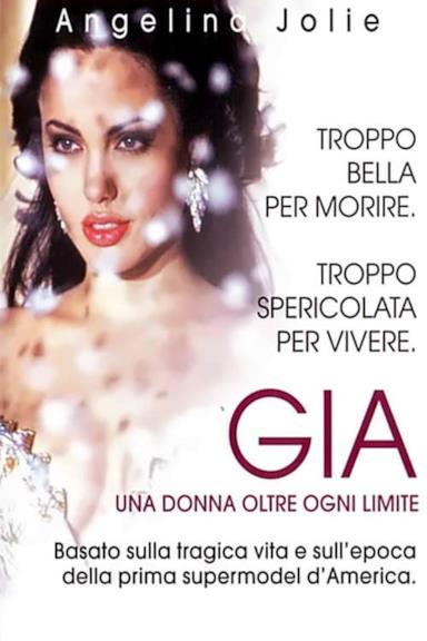 Poster Gia - Una donna oltre ogni limite