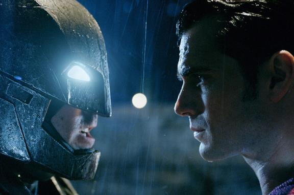 Un'immagine di Batman e Superman in Dawn of Justice