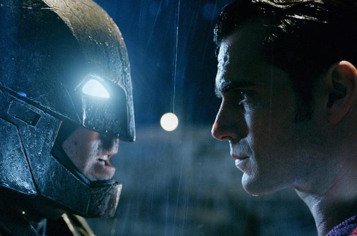 Un'immagine di Batman e Superman in Dawn of Justice