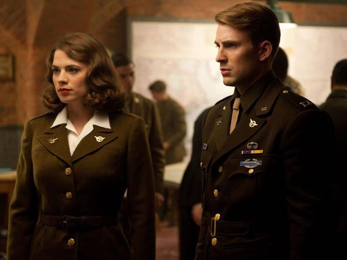 Una scena di Captain America - Il primo Vendicatore