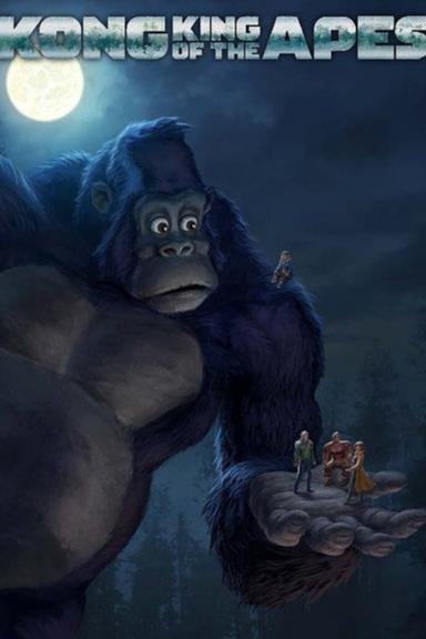 Poster Kong: Re dei primati