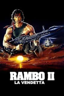 Poster Rambo 2 - La vendetta