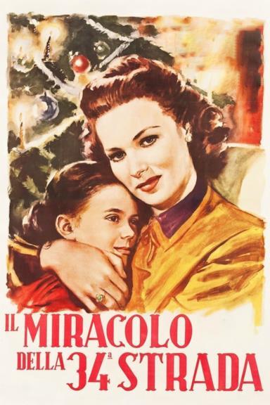 Poster Il miracolo della 34ª strada