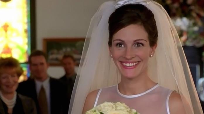 Julia Roberts in abito da sposa per Se scappi, ti sposo