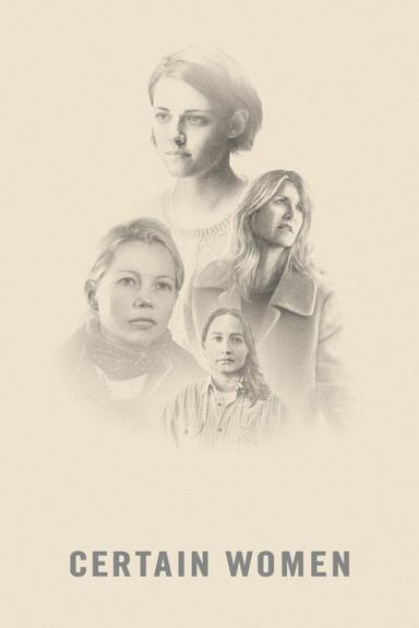 Poster Certain Women
