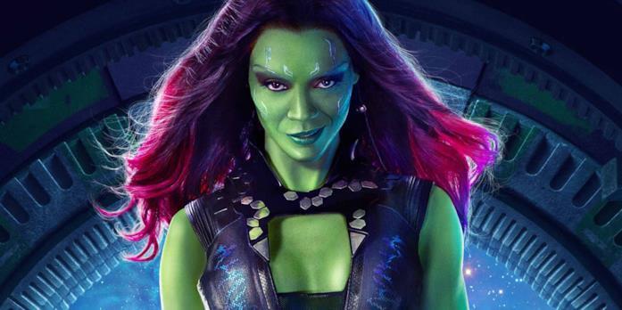 Il personaggio di Guardiani della Galassia Gamora