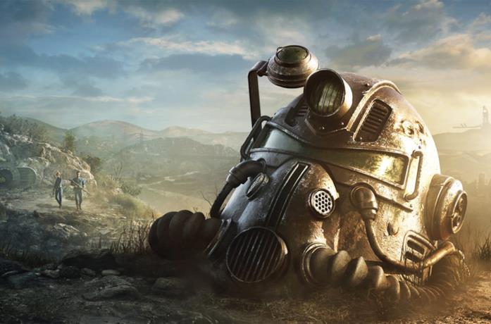 Un'immagine promozionale di Fallout 76