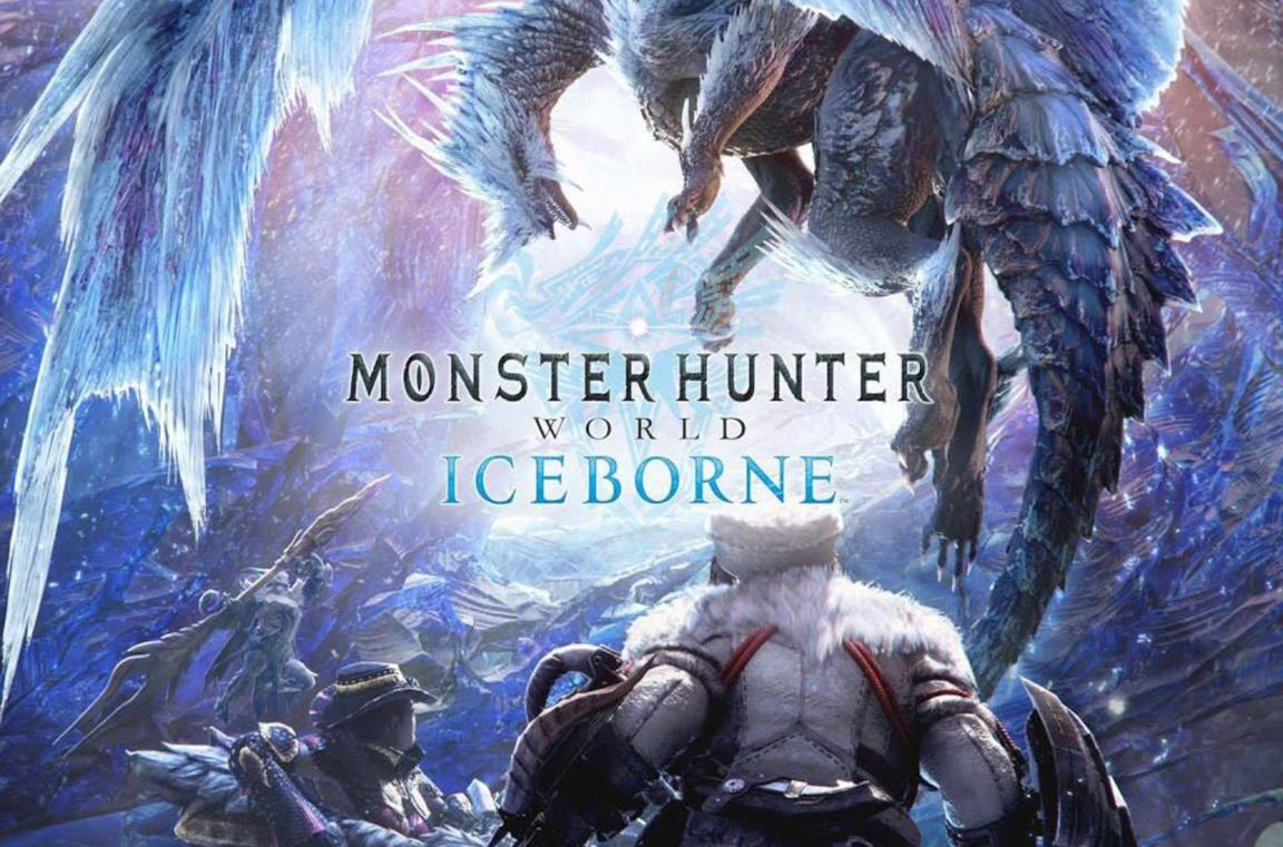 Monster Hunter World: la cover del gioco Iceborne