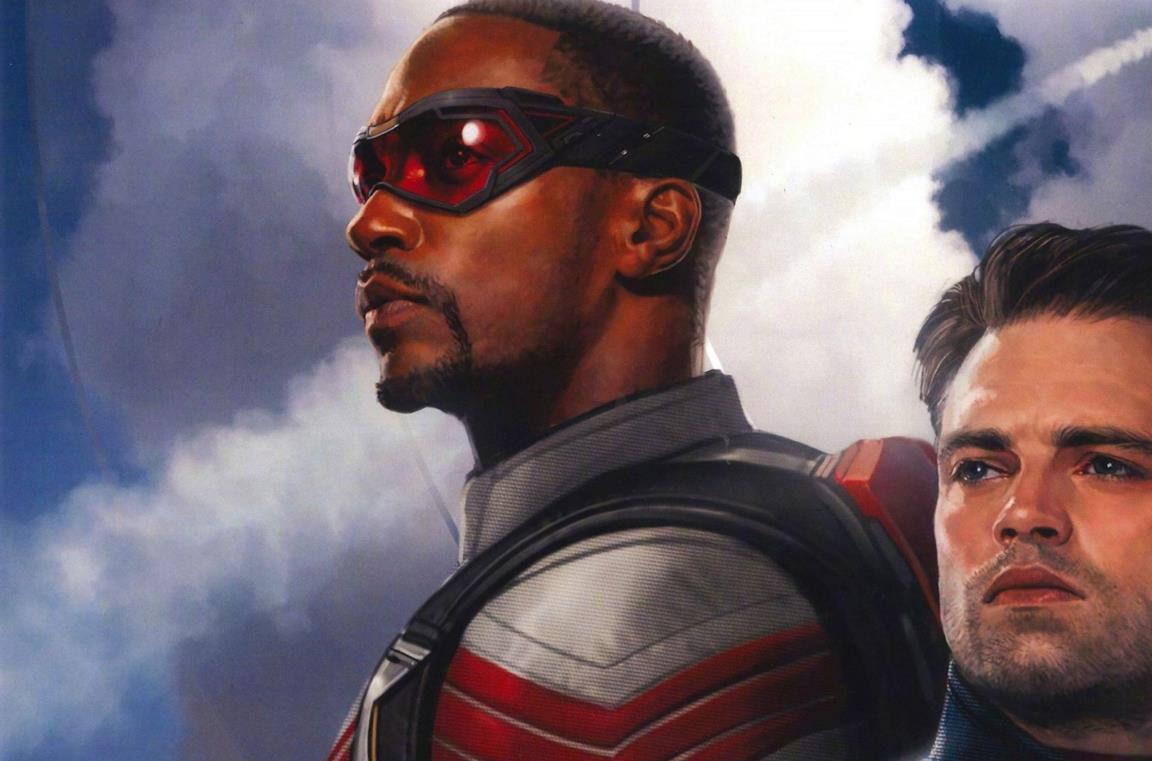Falcon e Winter Soldier nel poster