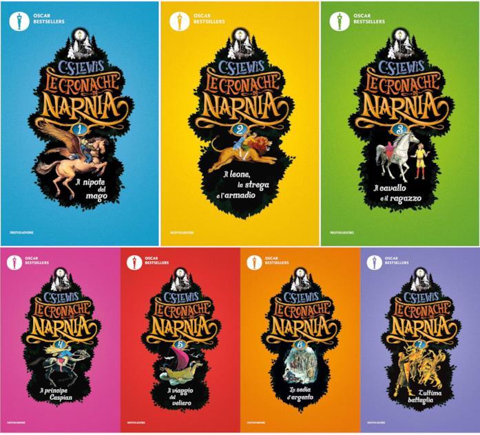 I libri de Le Cronache di Narnia