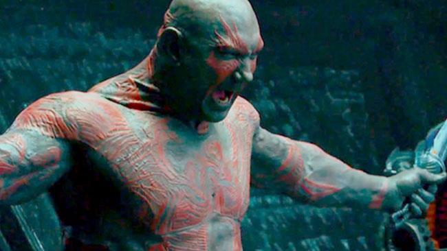 Drax in combattimento