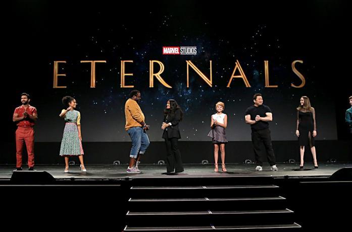 Il cast de Gli Eterni al D23 Expo 2019