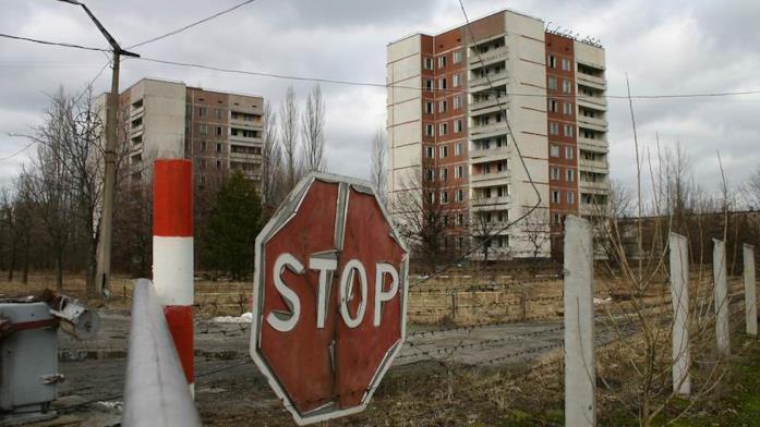 La zona di esclusione di Chernobyl
