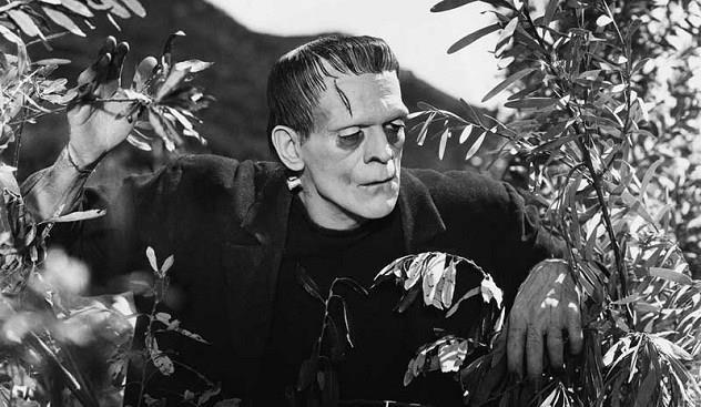 Frankenstein, 1931, con Boris Karloff