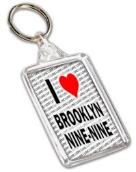 I Love Brooklyn nine-nine portachiavi