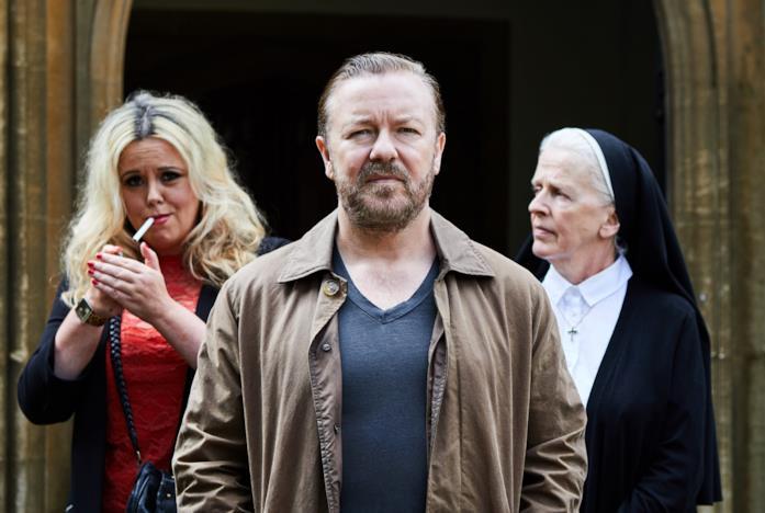 Ricky Gervais, la prostituta e la suora della seconda stagione di After Life