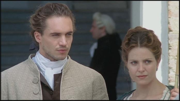 Una scena di Elisa di Rivombrosa con Armand