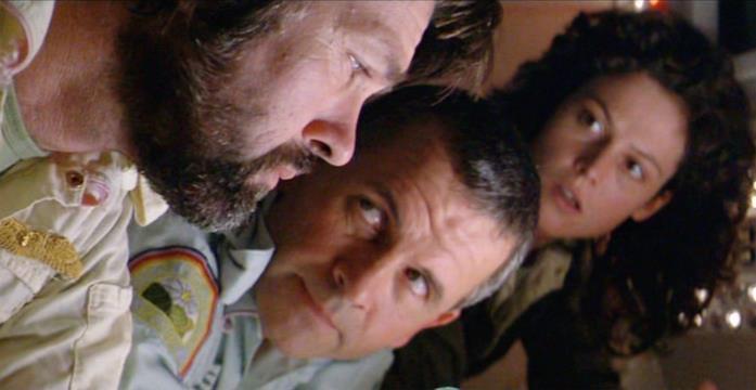 Tom Skerrit, Ian Holm e Sigourney Weaver sono tre degli interpreti di Alien