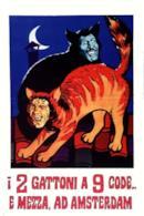 Poster I due gattoni a nove code... e mezza ad Amsterdam