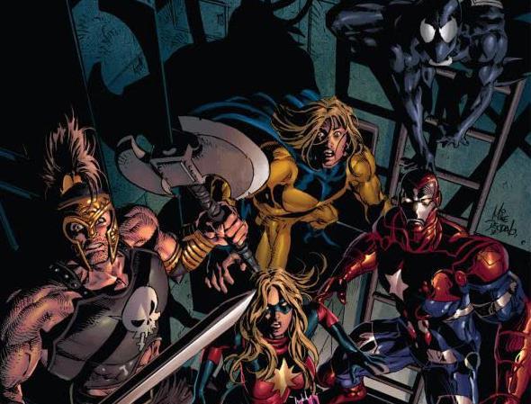 Cover di  Dark Avengers Vol. 2: Molecule Man