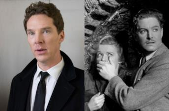 Benedict Cumberbatch / Una scena di The 39 Steps