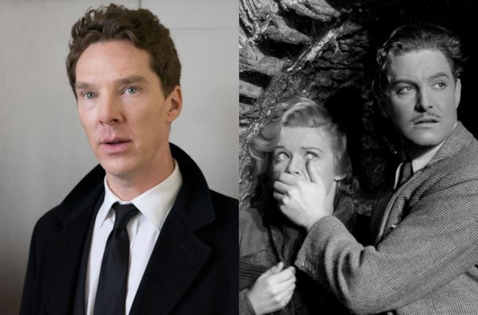 Benedict Cumberbatch / Una scena di The 39 Steps