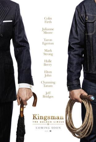 Il teaser poster col cast di Kingsman 2