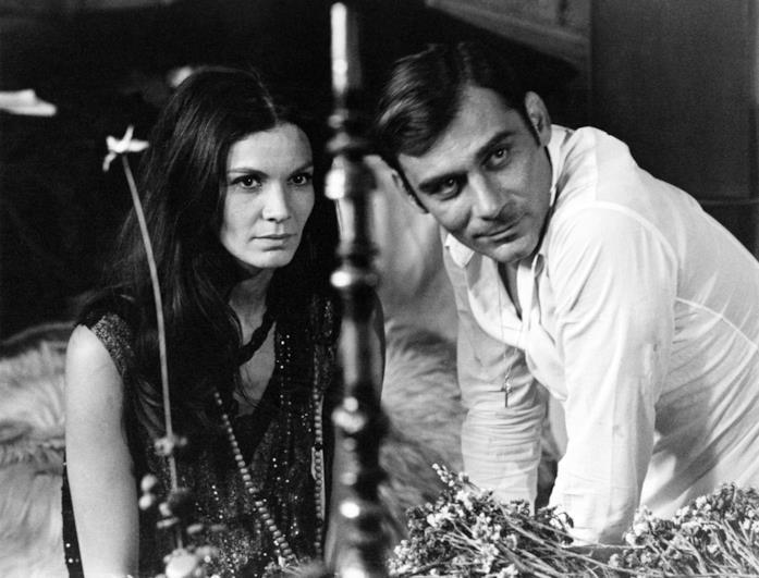 Florinda Bolkan e Gian Maria Volontè nel film