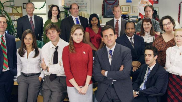Tutti i colleghi dell'ufficio di Scranton della Dunder Mifflin