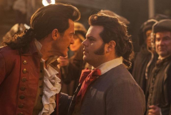 Gaston e LeFou da La Bella e la Bestia