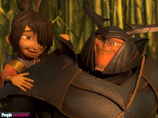 Kubo e Beetle nelle prime immagini del nuovo film Laika