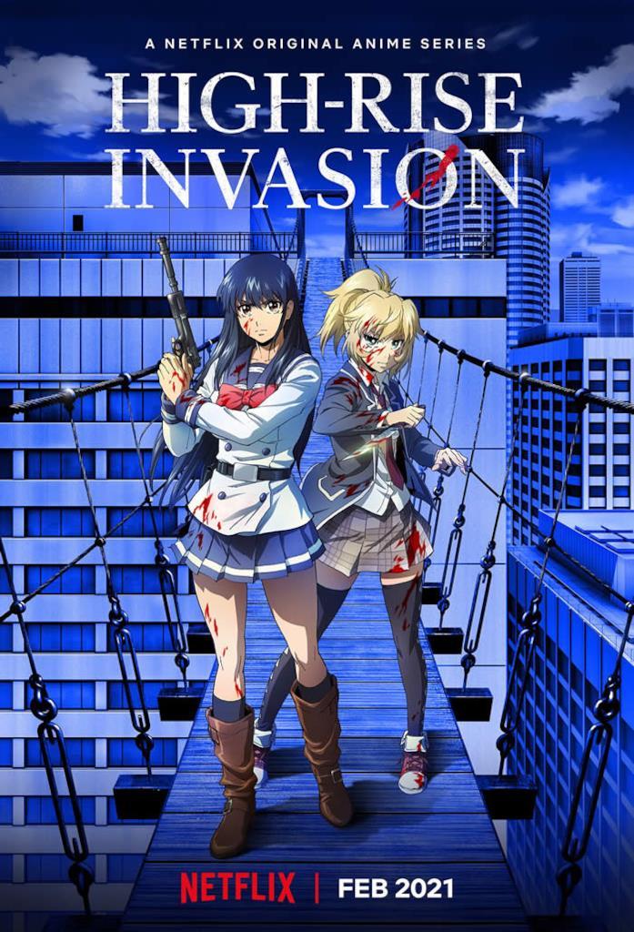High-Rise Invasion anime