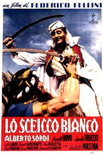 Poster Lo sceicco bianco