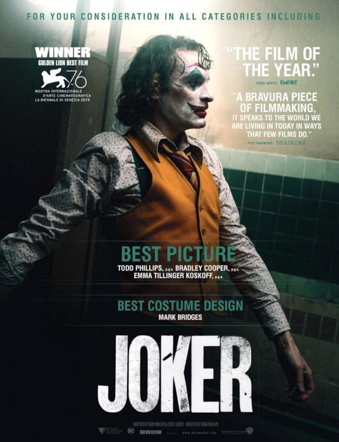 Il poster promozionale di Joker