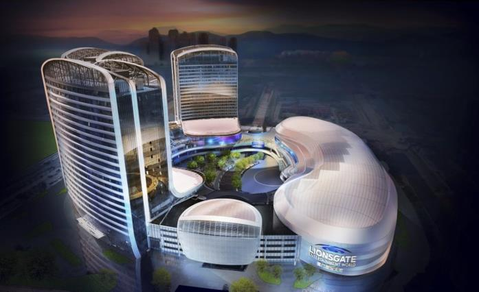 Il complesso Lionsgate Entertainment World